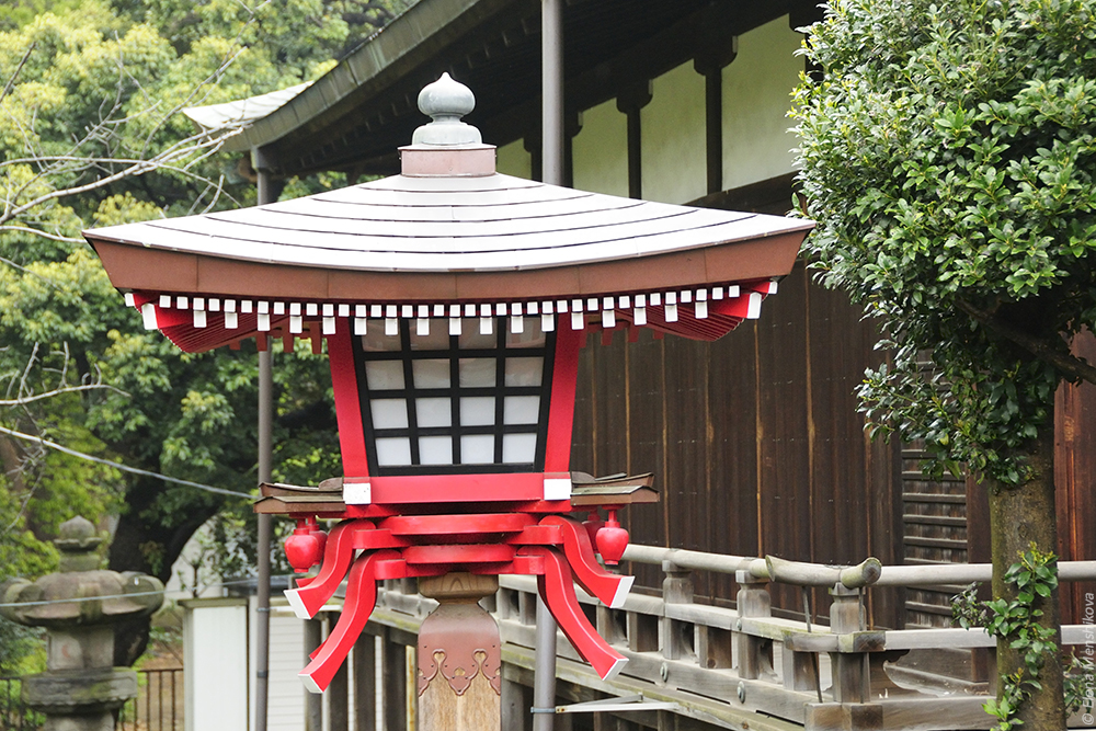 Буддийский храм Kiyomizu Kannon-do (清水観音堂)
