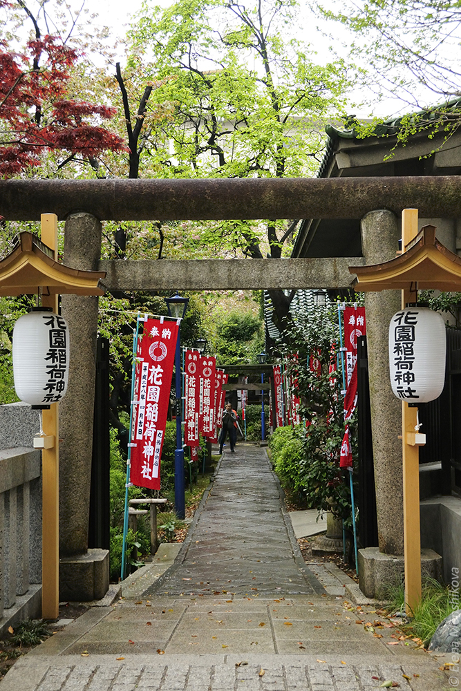 Синтоистский храм Anamori Inari Jinja (穴稲荷)