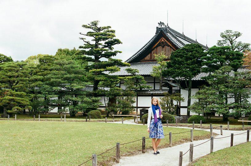 Киото Замок Нидзё (二条城)