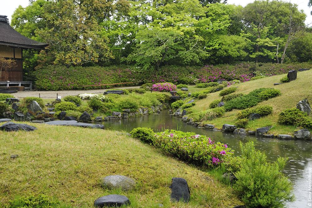 Нара Сад Isui-en (依水園)