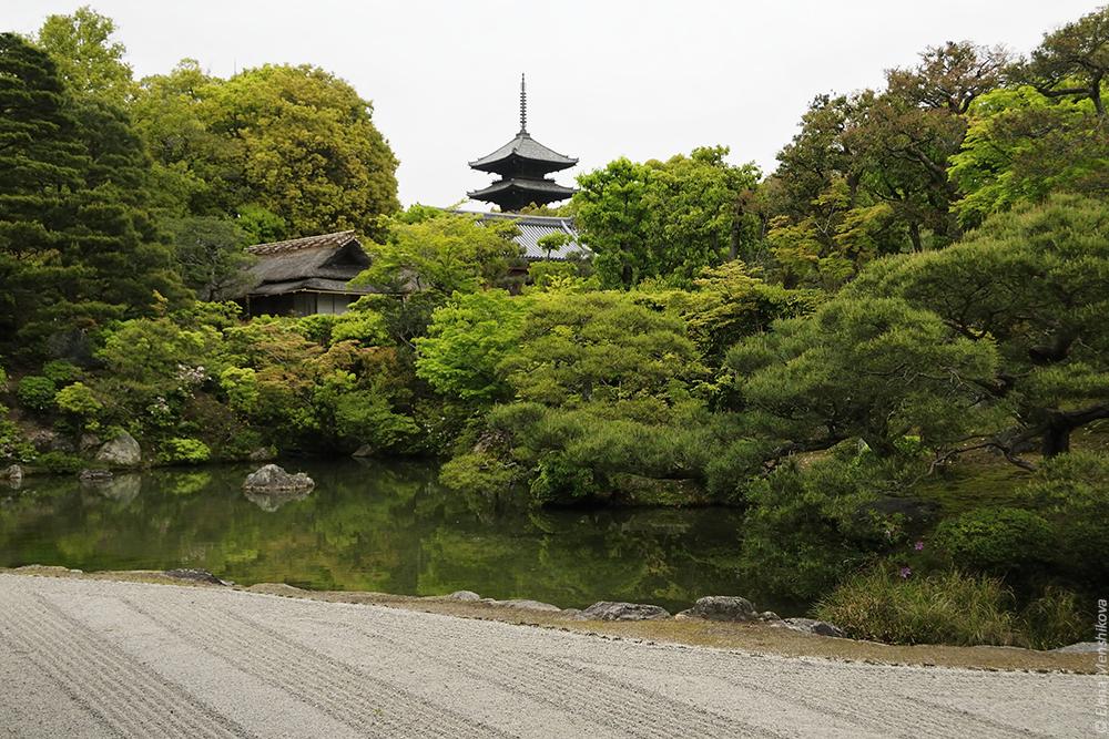 Киото Храм Нинна-дзи (仁和寺)