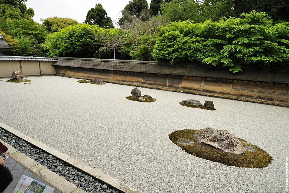 Киото Храм Рёан-дзи (龍安寺)