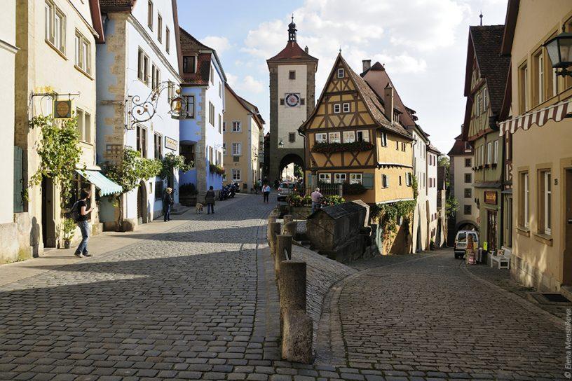 Ротенбург-на-Таубере Rothenburg ob der Tauber